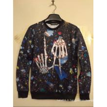 Chemise Streetwear Dark Bone Allover Dark