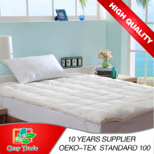 Gold Quality for 5 Stars Hotel Pure White Feather Down Mattress Topper