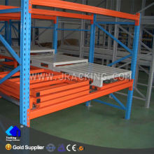 Economical Selective Warehouse Storage Steel Push Back Pallet Racking System