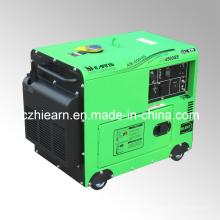 Gerador diesel silencioso 3.2kw com motor diesel de 4 cursos (DG4500SE)