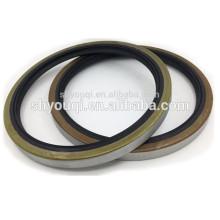 Конкурентный Автомобильное уплотнение масла Индустриального масла уплотнительные кольца заземления металл двойной губы Пылезащитный поворотного вала бутадиен-нитрильный каучук ТБ уплотнение масла