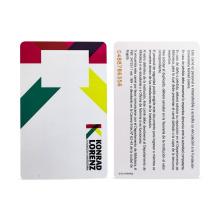 Smart rfid-Mitarbeiter-PVC-Personalausweis