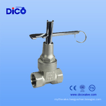 Heavy Type CF8/CF8m Gate Valve with Lock