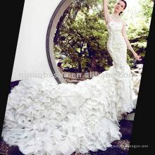 NW-299 Glamous Luxury Designer Wedding Dress