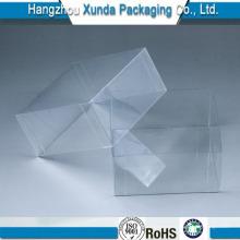 Caixa de plástico transparente para cosméticos e presentes