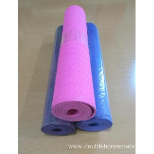 TPE material single color yoga mat