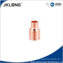 J9010 encaixe de cobre forjado redutor 1 polegada de cobre encaixe de tubulação