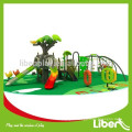 European Standards Luxury Children Preschool Outdoor Playground with Climbing Frame and Slide