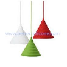 Kundengebundene Förderung Bunter Silikon-Lampenschirm