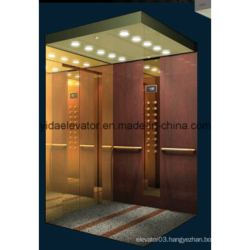China Top Passenger Elevator with Hairline Stainless Steel (JQ-N014)