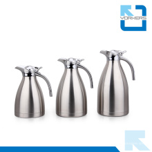 Atacado 304 aço inoxidável vácuo café pote e chaleira de água