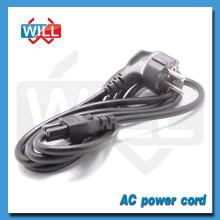 2.5A 250V Euro H03VVH2 - F 2x0.75mm2 Cable de alimentación