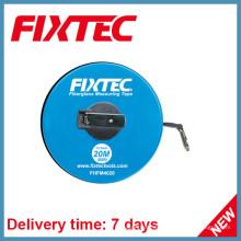 Fixtec Handwerkzeuge 20m ABS Kunststoff Fiberglas Messband