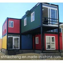 Contentor de transporte modular para sala / escritório (shs-fp-villa001)