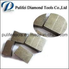 2000mm Werkzeug-Teil-Granit-Steindiamant-Ausschnittsegment