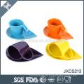 12 PC Arten der Farbe gute Qualitätsart und weise keramische Kaffeetasse und Saucer eingestellt