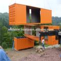 Certificado ISO Construção Estrutural Moderna Estrutura de aço 20FT / 40FT Container Houses