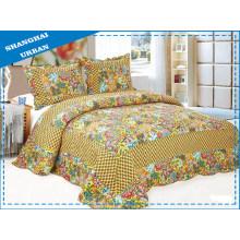 Bettdecke aus Baumwolle mit Quilt-Print