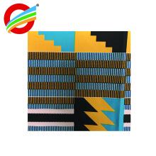 Venda Por Atacado tecido anti-estático de poliéster cera africana impressa