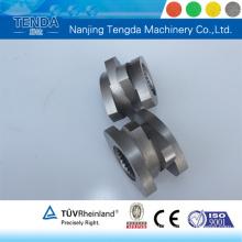 Barril de tornillo de material W6mo5cr4V2 para extrusora de tornillo doble