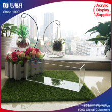 Customized Colored Acrylic Brush Holder with Lid
