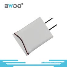 1 Cargador USB con Curve Metal Line Us Plug