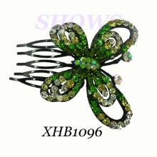 Ювелирные изделия волос способа / расческа волос диаманта / гребень волос (XHB1096)