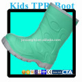 JX-916G colorful TPR kids rain boots for children