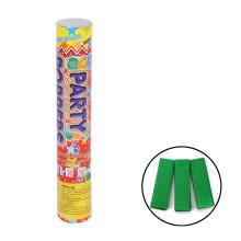 Decoración navideña de eventos navideños Party Popper con papelería confeti
