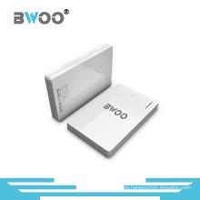 Promoción portátil Slim 2600mAh Power Bank para teléfono móvil
