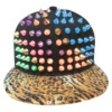 Snapback Baseball Caps with Artificial Leather SD02