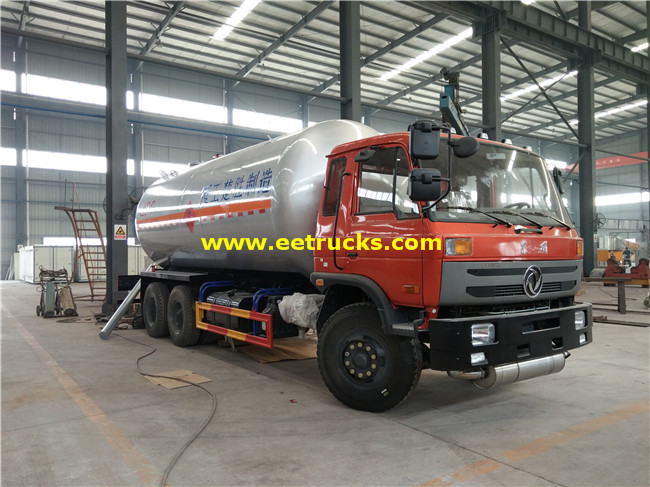 10 Wheel LPG Tanker Vehicles