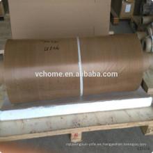 Tela de teflón a granel de alta calidad de revestimiento de tela de fibra de vidrio compuesto con adhersive lineal