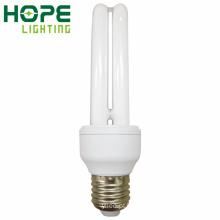 CE de poupança de energia do bulbo de 2u E27 9W / RoHS / ISO9001 aprovado