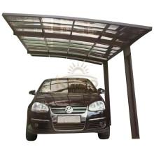 Aluminum Polycarbonate Custom Metal Double Garage Carport