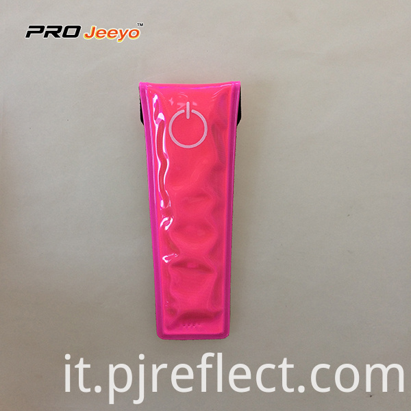 Reflective High Visibility Warning Pink Magnetic Clipcj Ccj001