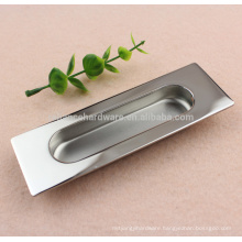 Timber door stainless steel Sliding Door Pull Handle in Square design