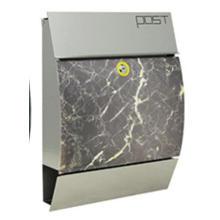 Solar Stainless Steel Mailbox (NLK-MB-006)