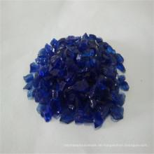 2-3mm Nickel und Blue Brocken / Crushed Glass Sand / Rock / Cullets