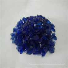 2-3 mm Nickel et Blue Brocken / Verre concassé Sand / Rock / Cullets