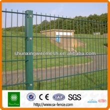 Двухпроволочный забор