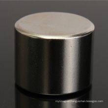 China Big Cylinder NdFeB Neodymium Magnet