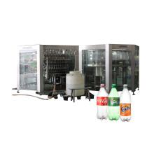 Linha de produção de engarrafamento de bebidas carbonatadas