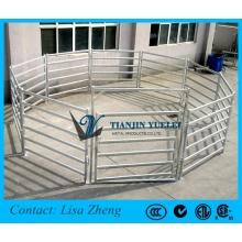 Panneaux de bétail portables lourds / panneaux de porte / porte coulissante