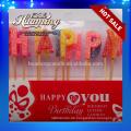 Heißer Verkauf alles- Gute zum Geburtstagbuchstabekerzen