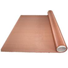 Malla de alambre tejida de cobre del níquel para el filtro en la fábrica de China