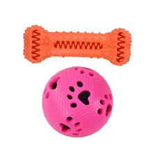 Новая игрушка для собак лечит мяч для чистки зубов собака
