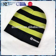 Diseñe su propio sombrero hecho punto del estilo con alta calidad para mantener caliente