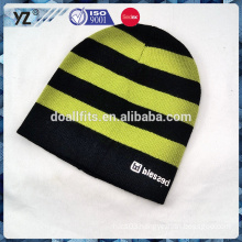 design your own style knitted hat with high quality to keep warm