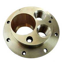 Piezas de instrumentos de fundición a presión de latón